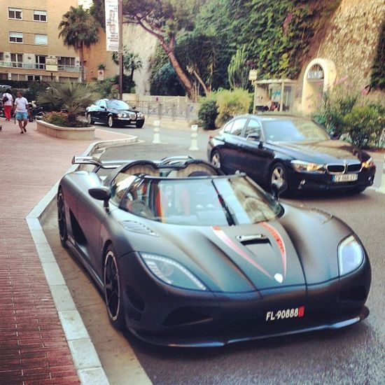 Monaco. The land of luxury cars.