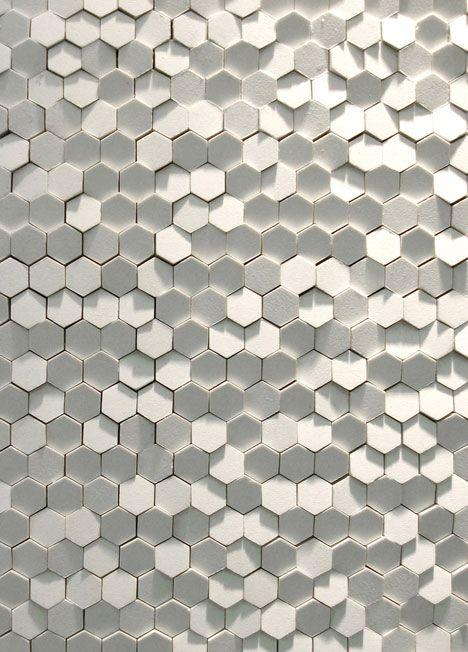 Hexagons texture