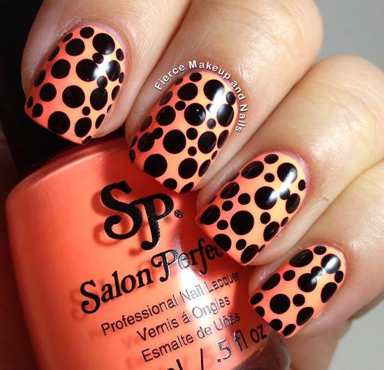 Fierce Makeup and Nails #nail #nails #nailart