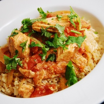Crock Pot Chicken Tiki Masala...wow, Indian food from a crock pot?? i'm in :)