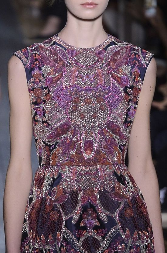 Valentino, Fall 2012 Couture, gorgeous shades of purple