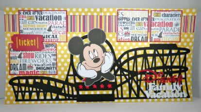 Great for a Disney scrapbook
