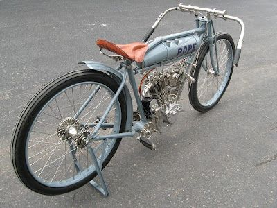 The Vintagent: 1914 POPE BOARD TRACK RACER