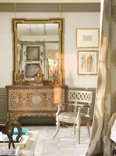 Bone Inlaid Furniture and Decor