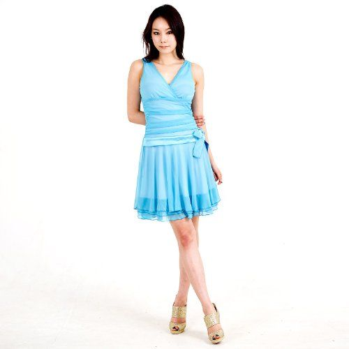 Evanese Women's triple layered mini dress « Clothing Adds for your desire