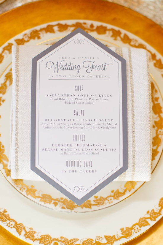 menu for a wedding feast by www.umbrellatreed...  Photography By / mikelarson.com