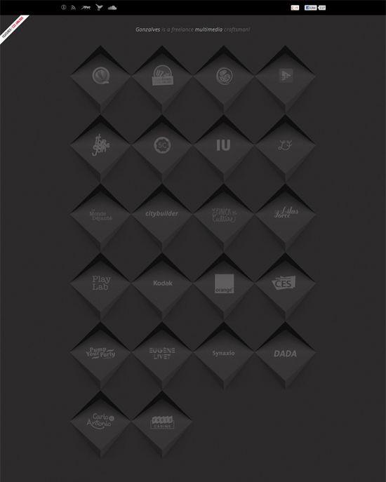 webdesign 3D render