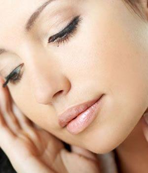 zdrowa, czysta skóra twarzy