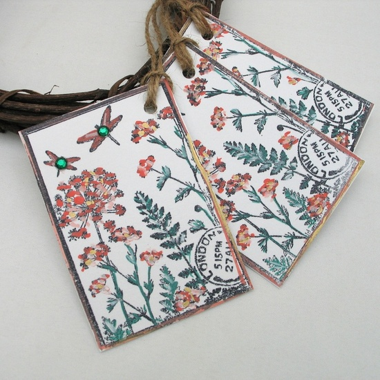 Hand Made Gift Tags - Adien Crafts