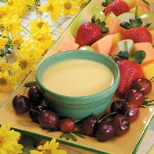 Orange Fruit Dip Recipe