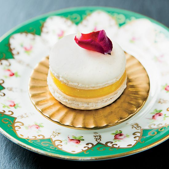 Lemon Curd Macarons // More Delicious Sandwich Cookies: www.foodandwine.c... #foodandwine