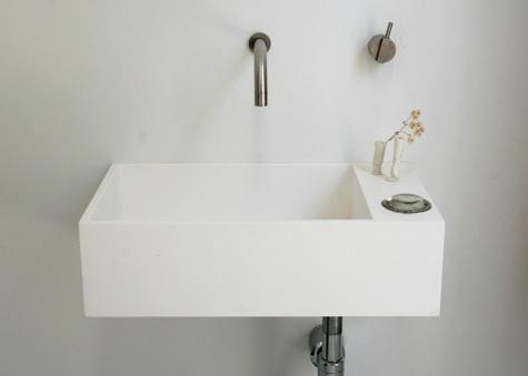 tiny sink.