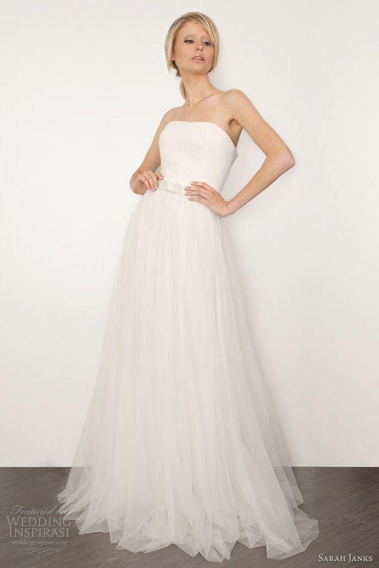 sarah janks wedding dresses 2013 bianca strapless bridal gown
