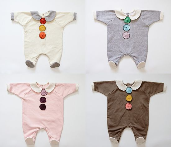 Adorable handmade baby outfits