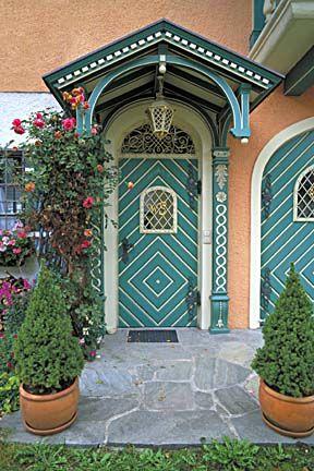 Germany    Green Door