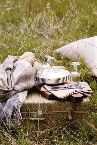 Romantic country #prepare for picnic #summer picnic