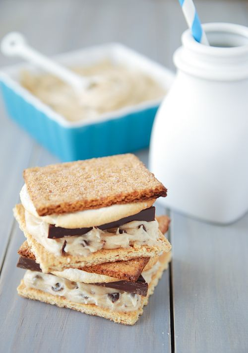 Cookie Dough S'mores - I need