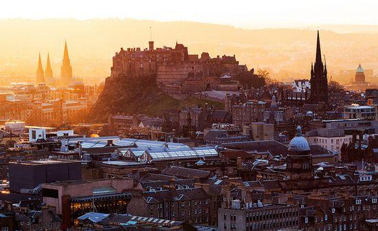 Edinburgh, Scotland / photo by John and Tina Reid