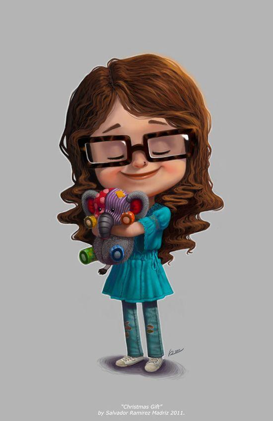 Sweet Girl Character #girl