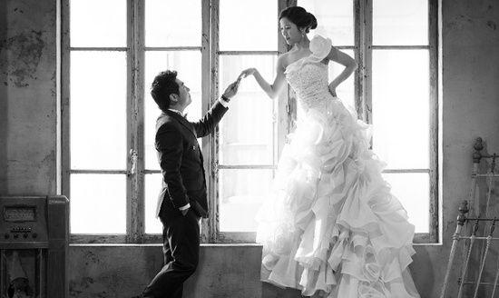 Cute korean star couple