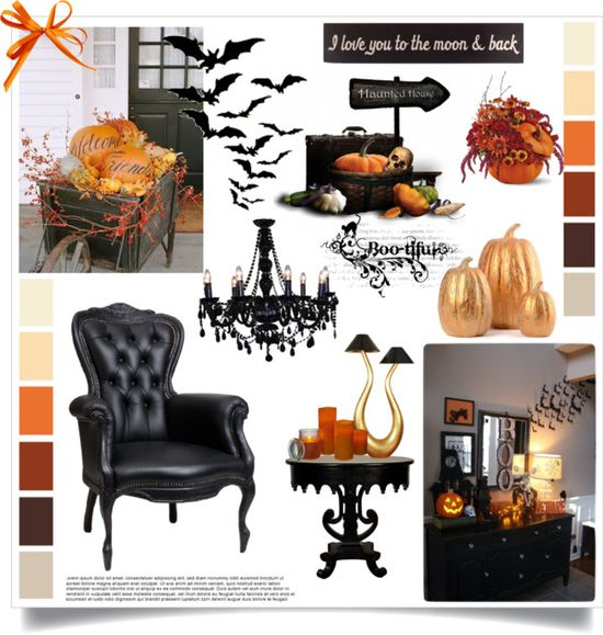"""""""Holloween home decor"""" by sharoncrotty on Polyvore"""