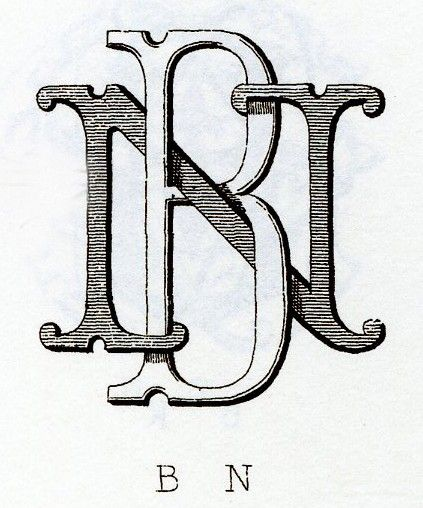 Monogram typography. #ornamental #typography #monogram
