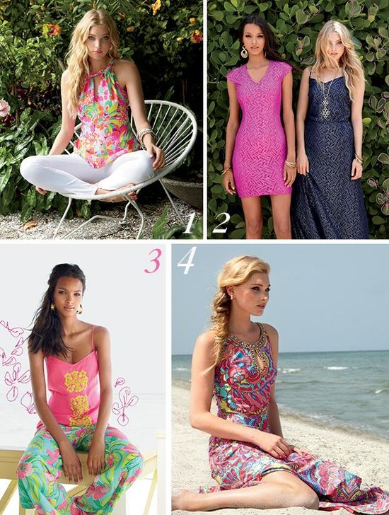 Lilly Pulitzer Palm Beach Travel Guide Dress Looks