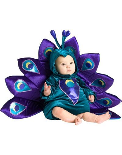 CUTE! Baby Peacock Costume