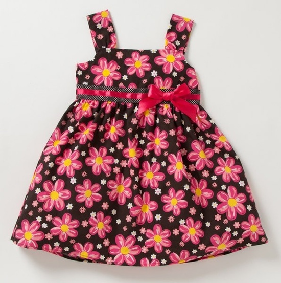 Pretty Floral Baby Dress.