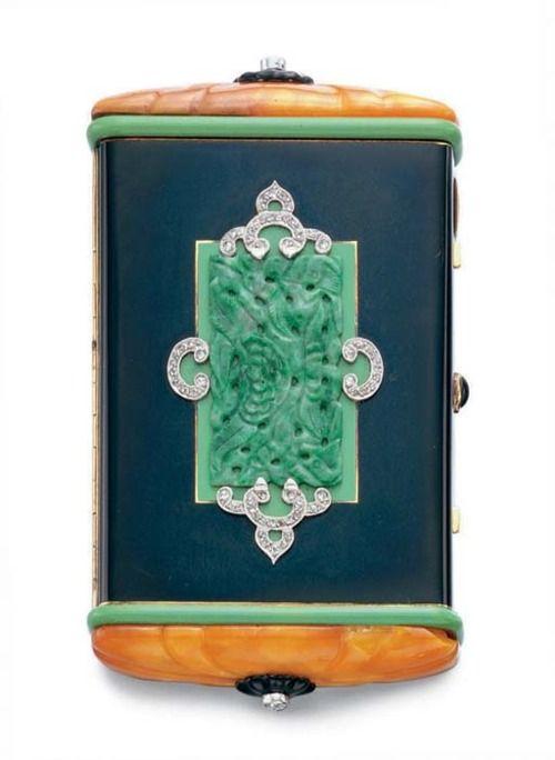 Art Deco Vanity Case, Cartier, 1925. Christie's. @Deidré Wallace