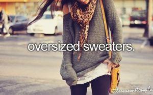 #fall #fashion #2013 #oversized #sweaters