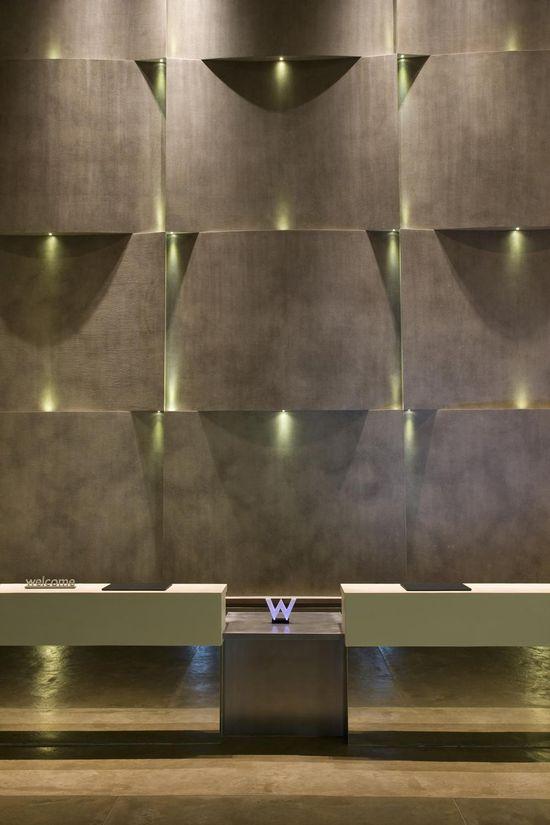 W Hotel-wall