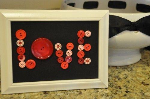 DIY Valentine's Day Picture Frame