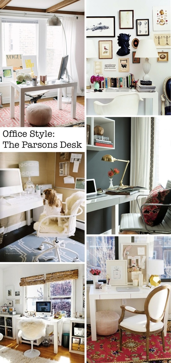 Office Design Style - The Parsons Desk