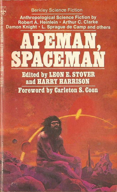 Apeman, Spaceman,  book cover