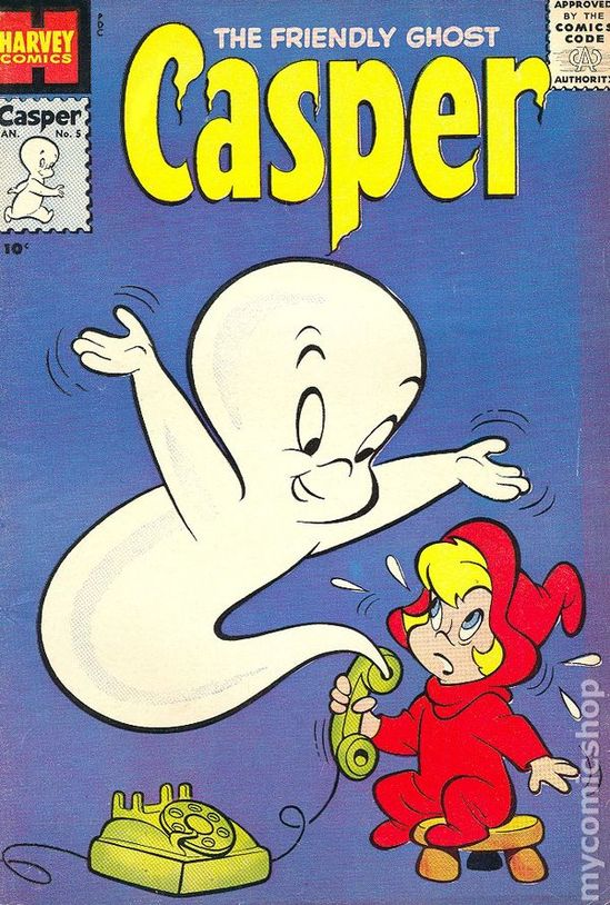casper the friendly ghost cartoon 1960s - I LOVED Casper