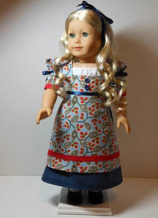 American Girl 1812 Regency Dress for Caroline