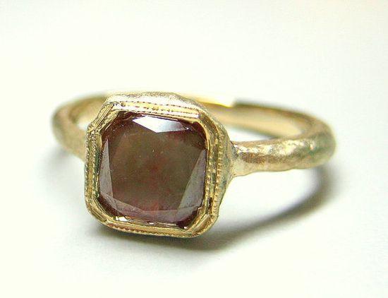 red rose cut diamond