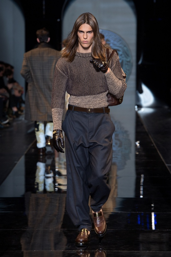 #Knitwear#Pants - Versace Men's Fall Winter 2013