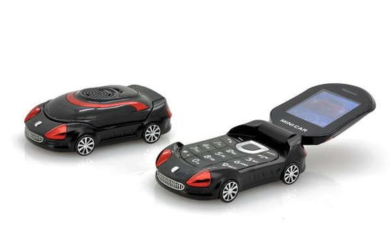 The 'Small Sports Car Mobile Phone' is Perfect for Auto Enthusiasts trendhunter.com