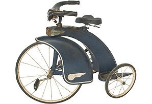 Art Deco child's tricycle from One Kings Lane