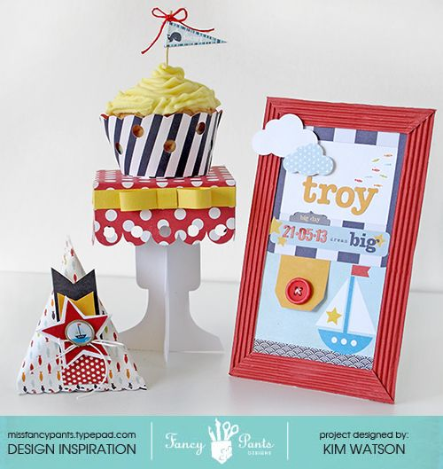 Welcome Baby table decor kit - Scrapbook.com