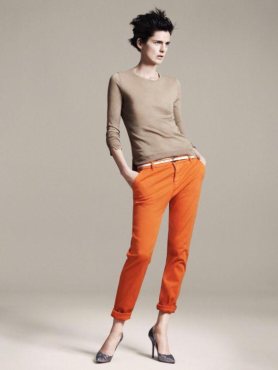 I want some orange pants