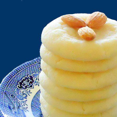 pillow soft almond sugar #cookies
