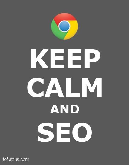Keep Calm and SEO -- Photography SEO