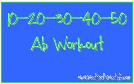 10-20-30-40-50 Ab Workout
