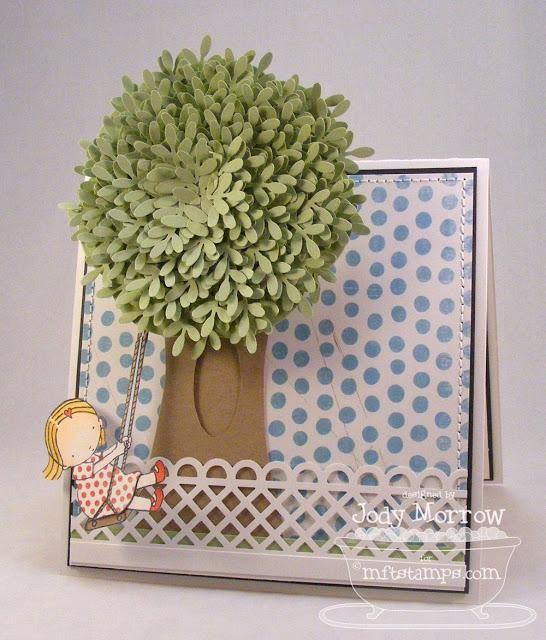 DIY Cards DIY Paper Craft: DIY : Swinging from a Tree... Whee!: FULL Tutorial