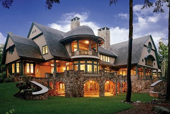 Beautiful Three Story Hansel & Gretel Style/Brick Built Home