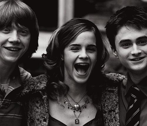 Young Harry Potter Cast (Rupert Grint, Emma Watson, Daniel Radcliffe)