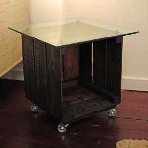 Modern Industrial side table